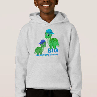 Cute Big Brother Green Dinosaurs Baseball Caps