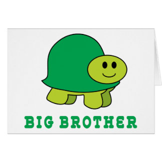 Cute Big Brother Greeting Card
