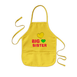 Cute Big Sister Apron