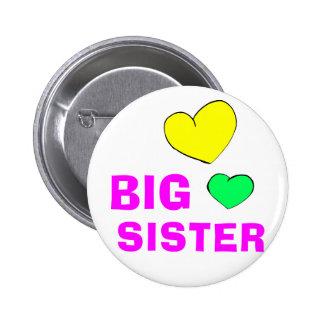 Cute Big Sister 6 Cm Round Badge