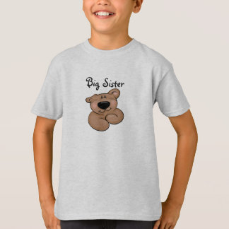 Cute Big Sister Teddy Bear T-Shirt