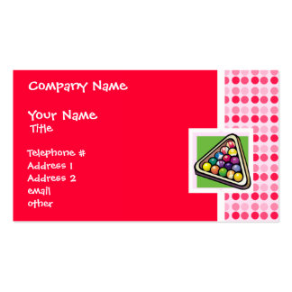 Cute Billiards Double-Sided Standard Business Cards (Pack Of 100)