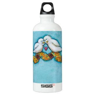 Cute bird art fun original painting film strip SIGG traveller 0.6L water bottle