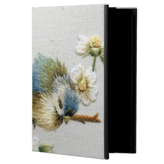 Cute Bird Embroidery iPad Air Cases