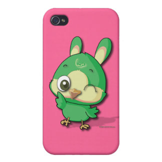 Cute Bird Funny Cartoon Character i Case For iPhone 4