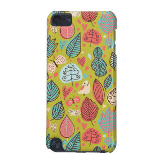 Cute bird/Leaf Pattern iPod Touch 5G Covers