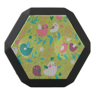 Cute Bird Pattern One Black Boombot Rex Bluetooth Speaker