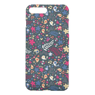cute birds and flowers pattern iPhone 8 plus/7 plus case