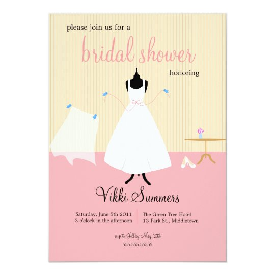 Cute Birds Bridal Shower Card