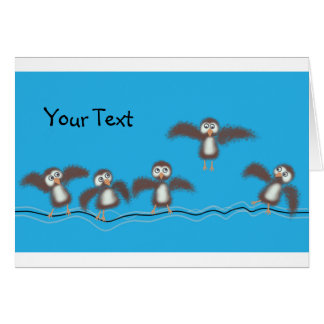 Cute Birds Card