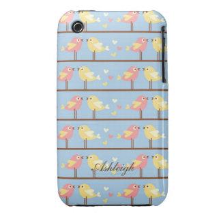 Cute Birds Case-Mate iPhone 3 Cases