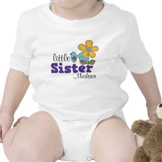 Cute Birds Daisy Flower Little Sister T-shirt