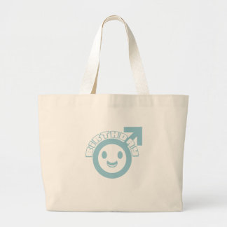 "Cute, ""Birthday Boy"" Kids Birthday design Canvas Bags"