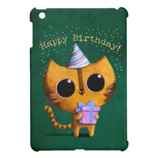 Cute Birthday Cat iPad Mini Case