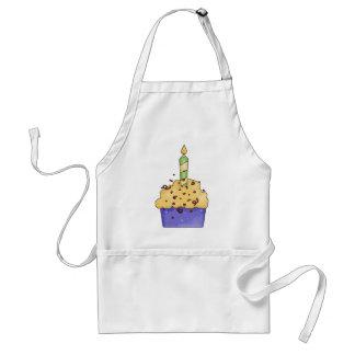 cute birthday cupcake apron