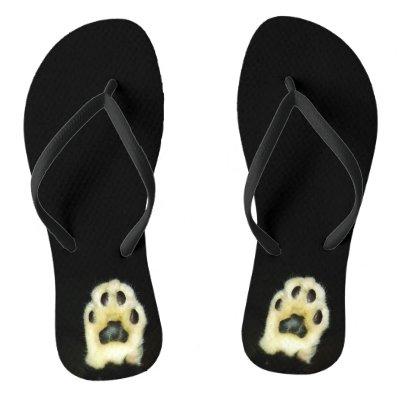 f1598d8100207 Tuxedo Flip Flops