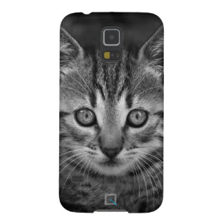 Cute black and white cat, Samsung Galaxy s6 Case