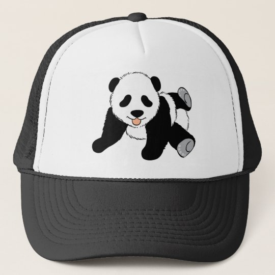 Cute Black and White Panda Bear Lover Gift