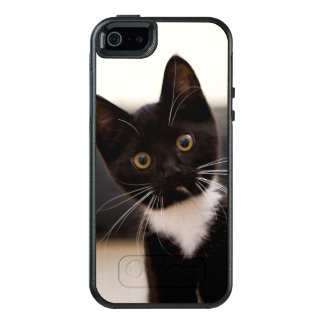 Cute Black And White Tuxedo Kitten OtterBox iPhone 5/5s/SE Case