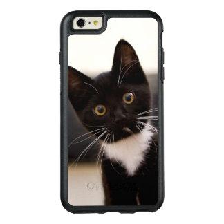 Cute Black And White Tuxedo Kitten OtterBox iPhone 6/6s Plus Case