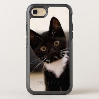 Cute Black And White Tuxedo Kitten OtterBox Symmetry iPhone 8/7 Case