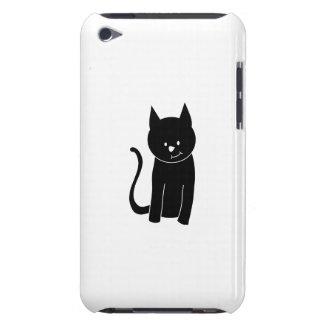 Cute Black Cat iPod Case-Mate Case