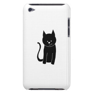 Cute Black Cat iPod Touch Case-Mate Case