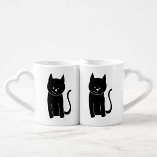 Cute Black Cat Lovers Mug