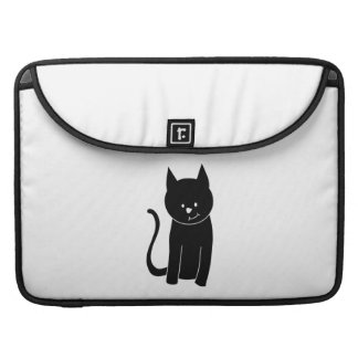 Cute Black Cat Sleeve For MacBook Pro