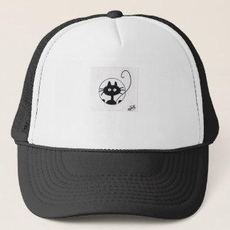 cute Black Cat Trucker Hat