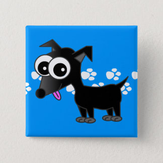 Cute Black Chihuahua Pin