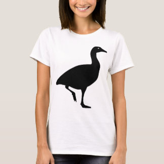 Cute Black Goose Silhouette T-Shirt