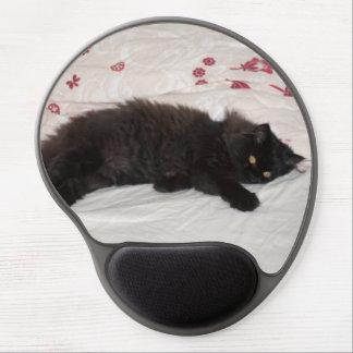 Cute Black Kitten Gel Mouse Pad
