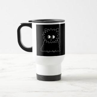 Cute Black Persian Cat. Travel Mug