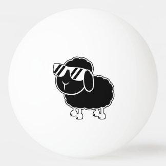 Cute Black Sheep Cartoon