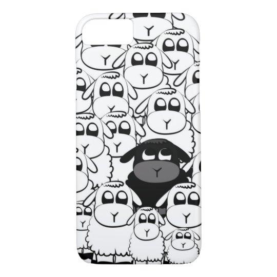 Cute black sheep iPhone 7 case