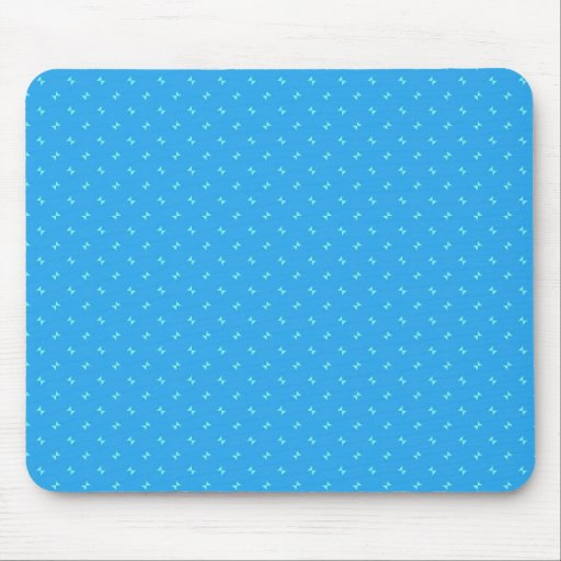 Cute Blue and Teal Triangle Design Gifts Mouse Pad