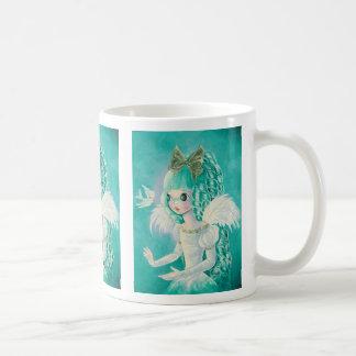 Cute Blue Angel Mug