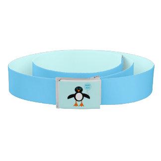 Cute Blue Baby Boy Penguin Belt