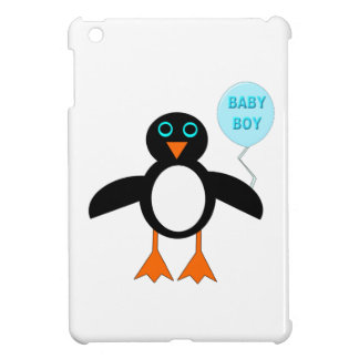 Cute Blue Baby Boy Penguin iPad Mini Case