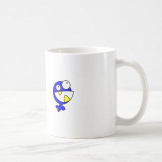 Cute Blue Baby Monster Coffee Mugs
