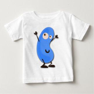 Cute Blue Bean Monster Baby T-Shirt
