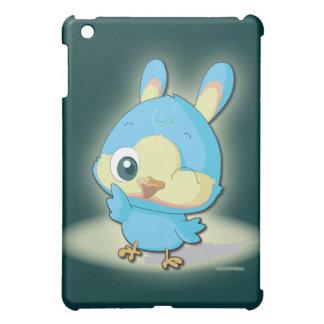 Cute Blue Bird Funny Cartoon Character  iPad Mini Cover
