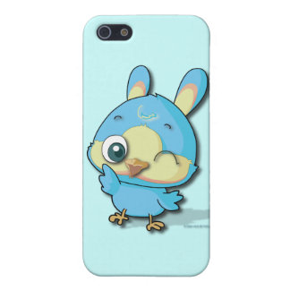 Cute Blue Bird Funny Cartoon Character iPhone Case Case For iPhone 5
