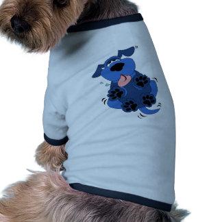 Cute Blue Dog design Dog Clothing