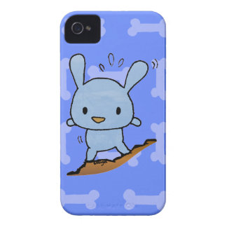 Cute blue Doggy iPhone 4 Case