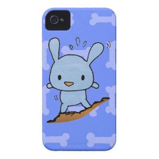 Cute blue Doggy Case-Mate iPhone 4 Cases