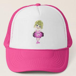 Cute Blue Eyes Ballerina Art Gifts Trucker Hat