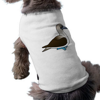Cute Blue-footed Booby Sleeveless Dog Shirt