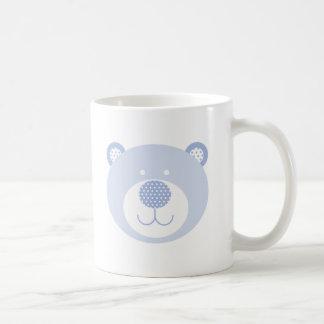 Cute Blue Friendly Bear Coffee Mug